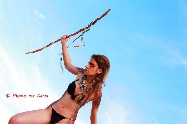 Andrea sous le ciel